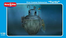 1/35 Turtle - First combate US submarine - NEW- Mikromir!