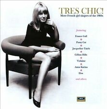 TrŠs Chic: More French Girl Singers of the 1960s by Various Artists *New CD*