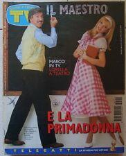 TV Sorrisi e Canzoni n 11 del 1997 Columbro,Cuccarini,Papi,Bee Gees