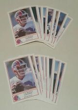 1987 Jim Kelly ROOKIE Buffalo Bills Police team card sets lot of TWO complete