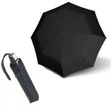 Ombrello Knirps T2 Fiber Duomatic - Antivento Nero
