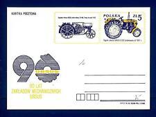 POLAND - POLONIA - Intero post. - 1983 - 5 z - Macchine agricole - Trattori
