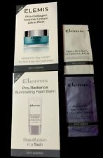 4 Elemis Samples: Brightening Tone Serum Pro-Collagen Marine Cream Cleansing