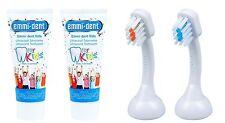 Emmi-dent Kids Ultraschall Zahncreme für Kinder 2x 75ml und Emmi-dent K2