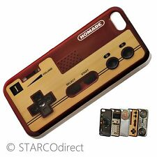 Vintage Fitted Hard Plastic Case for iPhone 5 - Game Controller Design