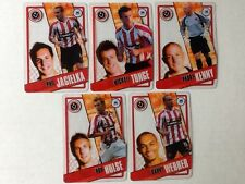TOPPS PREMIER LEAGUE 2006/07 I-CARDS. FULL SET OF ALL 5 SHEFFIELD UNITED