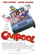 CAR POOL MOVIE POSTER TOM ARNOLD
