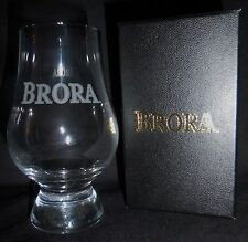 BRORA DISTILLERY LOGO LTD ED GLENCAIRN SCOTCH WHISKY TASTING GLASS