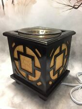 Oriental Square Burner Warmer  Soy  & Oils Fragrance / Oil Burner D-446