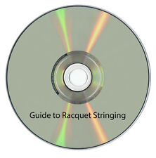Tennis Squash Badminton Racquet Racket Stringing Machine DVD