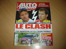 Auto hebdo N°1819 Rallye d'Allemagne.Eric Boullier