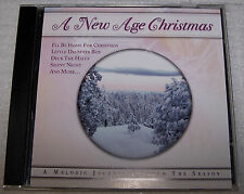 A New Age Christmas CD Blue White Frosty Snowman Drummer Boy O Holy Night