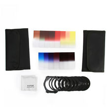 24 IN1 Cokin P Graduated Color Filter+2 Cases+1Clean Cloth+10 Adapter Holder Set