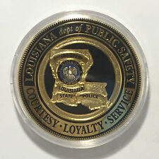 Louisiana State Police Trooper Challenge Coin
