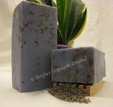 Handmade Soap Loaf - French Lavender Shea Olive Oil  Vegan Olive Oil