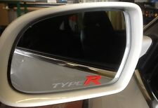 TYPE R wing mirror frosted deco car stickers decals