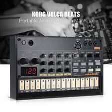 KORG VOLCA BEATS Analog Rhythm Sequencer Synthesizer with MIDI Hi-quality O9W8