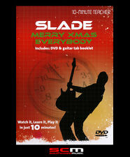 10-MINUTE TEACHER SLADE MERRY XMAS EVERYBODY GUITAR DVD TUITIONAL TUTORIAL MUSIC