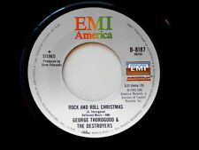 GEORGE THOROGOOD~ROCK AND ROLL CHRISTMAS~NM~NEW YEAR'S EVE PARTY~EMI~ ROCK  45