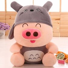 Hot 25CM Totoro McDull Pig Plush Toys Doll Cute Cartoon Couple  Birthday Gifts