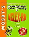 Mosby's Comprehensive Review of Nursing for NCLEX-RN (Book with CD-ROM-ExLibrary