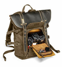 National Geographic NG A5290 Medium Backpack Camera Bag Leather & Canvas New