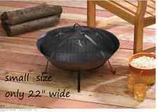 Western STARS outdoor fireplace Fire Pit SMALL Bowl firepit Mesh & Lid screen