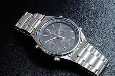 RARE SEIKO 7A28 702A  1/10 SECOND JAMES BOND CHRONOGRAPH MINT IN BOX