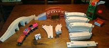 45 Piece Melissa & Doug Wood Train Set