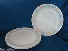 Corelle FRIENDSHIP Dinner Plate (s) multiples -blue flowers- have more items