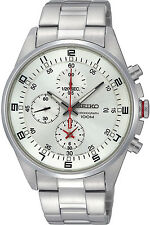 SEIKO SNDC87P1,Men's CHRONOGRAPH,STAINLESS STEEL CASE,100m WR,SNDC87