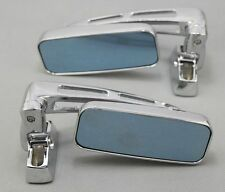 CHROME MOTORCYCLE SPORT SIDE REARVIEW MIRRORS FOR HAYABUSA ZX14R ZX10R R1 R6S A