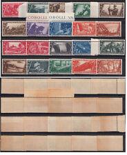 Regno 1932 Decennale Marcia su Roma Integra Nuova 20 valori P.A. Espressi MNH