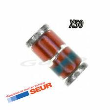 50X Diodo Zener 5V1 5,1V 400mW 0,4W SMD