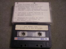VERY RARE PROMO Boy Meets Girl DEMO CASSETTE TAPE A Hit Is A.. WHITNEY HOUSTON
