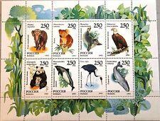RUSSIA RUSSLAND 1993 Klb 351-58 6191a Fauna Tiere Animals Koala Panda Wal MNH