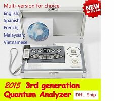 Newest  41 Report Magnetic Quantum Resonance body 3rd Generation Health Analyzer