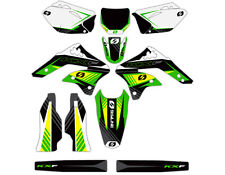 06 07 08 KXF 450 GRAPHIC KIT KAWASAKI DECALS KXF450 KX450F MOTO DECO DECAL KAWI