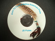 JD Flutes Tune A NATIVE AMERICAN Flute DVD (See Hidden Secrets) (SEE VIDEOS)