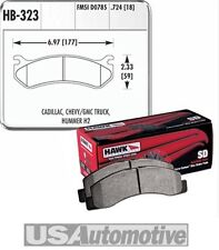 HawkPerformance SuperDuty Brake Pads HB323P.724 Cadillac Chevy GMC Hummer Pickup
