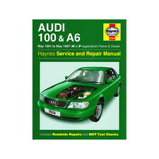 AUDI 100 A6 1.8 2.0 2.3 gasolina 1.9 2.5 Diesel 91-97 (H a P REG) Haynes Manual