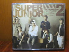 SUPER JUNIOR KPOP CD SECOND ALBUM KOREAN VERSION