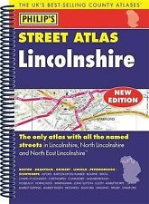 Philip's Street Atlas Lincolnshire by Octopus Publishing Group (Spiral bound,...