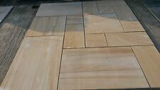 INDIAN TEAKWOOD SANDSTONE SLABS/flags 19 SQM PATIO PACKS=to £18.33sqm+VAT 00007