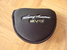TOMMY ARMOUR EVO MALLET PUTTER HEAD COVER HEADCOVER - black + green/yellow - NEW