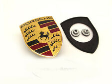 New Genuine Porsche 997 987 Boxster Cayman Bonnet Badge Badge Gasket & Nuts