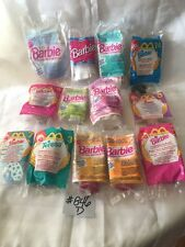 Mix Lot Of BARBIE McDonalds Toys / Happy Meal , Unopened Packages