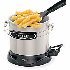 Electric Deep Fryer Nonstick Temperature Automatically Fish Chip Fryer 4 Cup