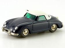 Schuco Micro-Racer Porsche 356 blau-weiß # 100