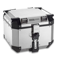 GIVI  OBK42A TREKKER OUTBACK MONOKEY MOTORCYCLE TOP BOX IN ALUMINIUM